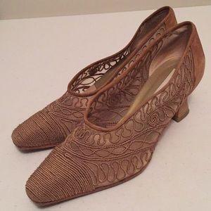 Via Spiga Sutash mesh heels shoes